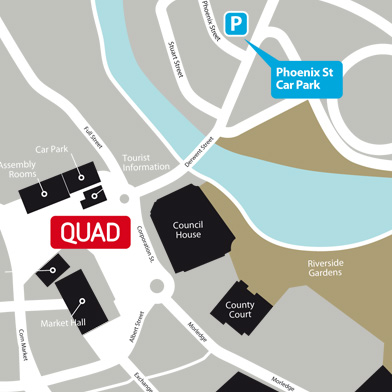 QUAD location map
